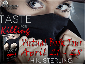 Blog Tour Review: A Tastes For Killing by H. K. Sterling