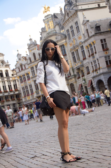 Withorwithoutshoes at Grand Place in Brussels