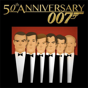 Pack 50 aniversario de Bond
