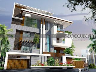 3D Rendering Exterior Design