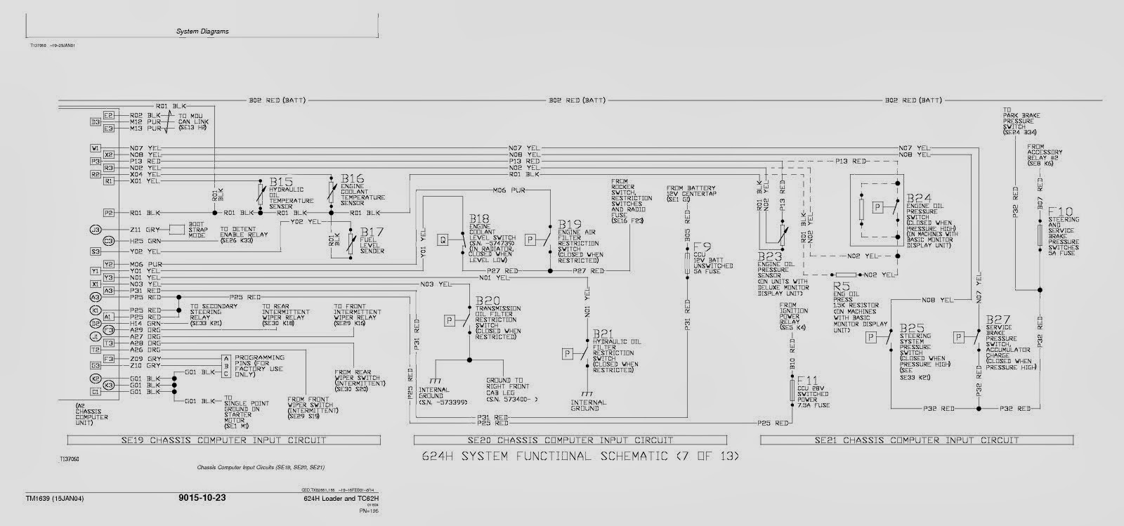 John Deere 624h Service Manual Wiring Schematic Free Owner And Workshop