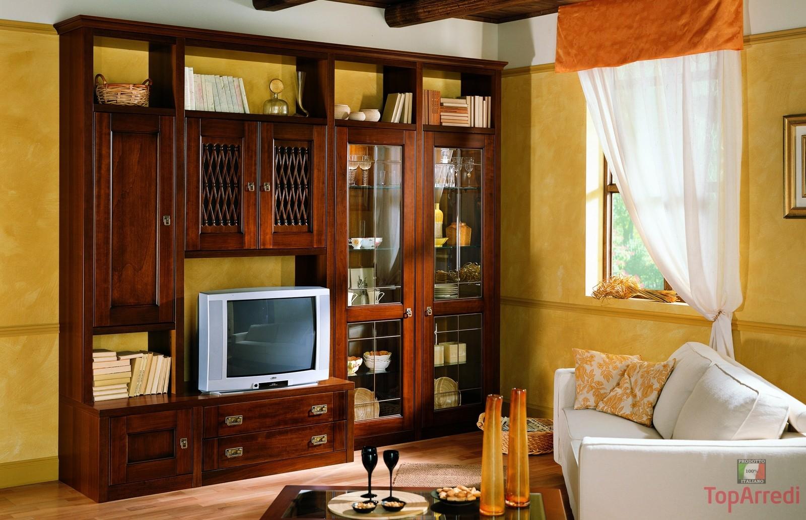 Arredamento e mobili online tre consigli utili per arredare un soggiorno in stile classico - Mobili tv classici ...