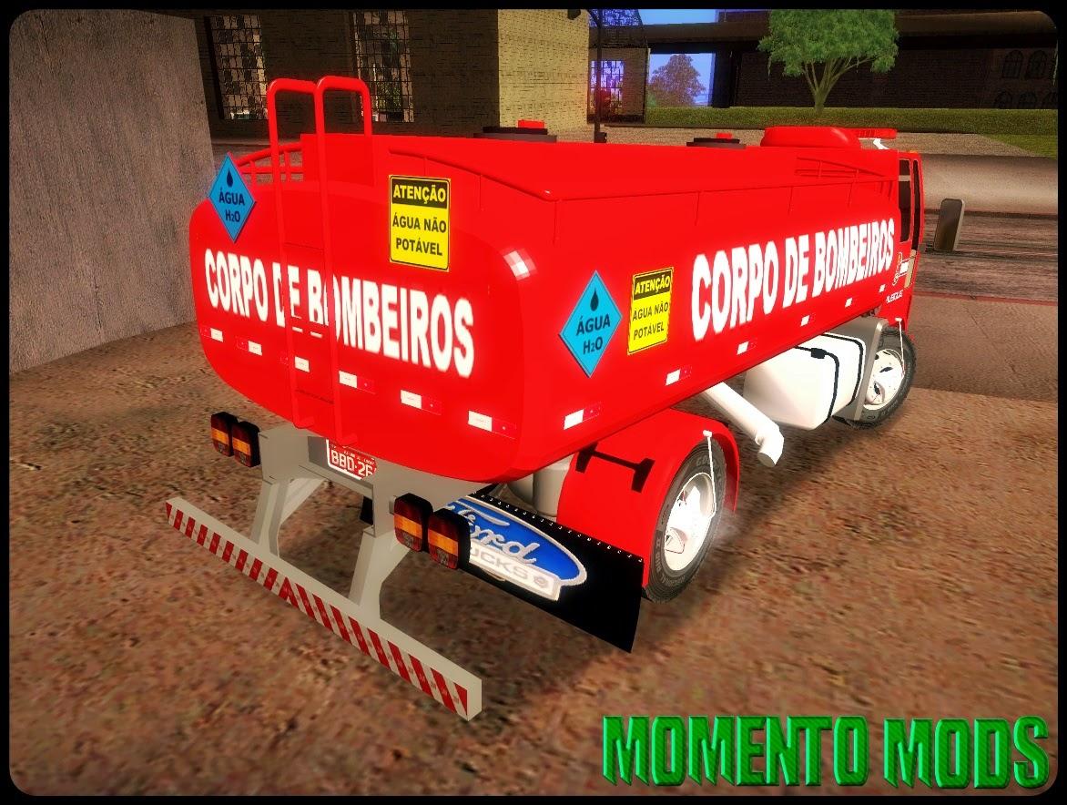 GTA SA - Ford Cargo Dos Bombeiros + ImVehFt