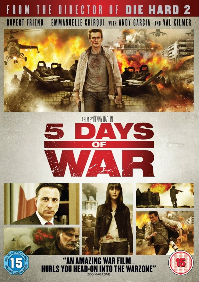 Snoopcallymac's blog: The Thin White Dude's Reviews - 5 Days Of War