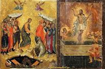 Η απεικόνιση της Ανάστασης στην ανατολική και δυτική εικόνα