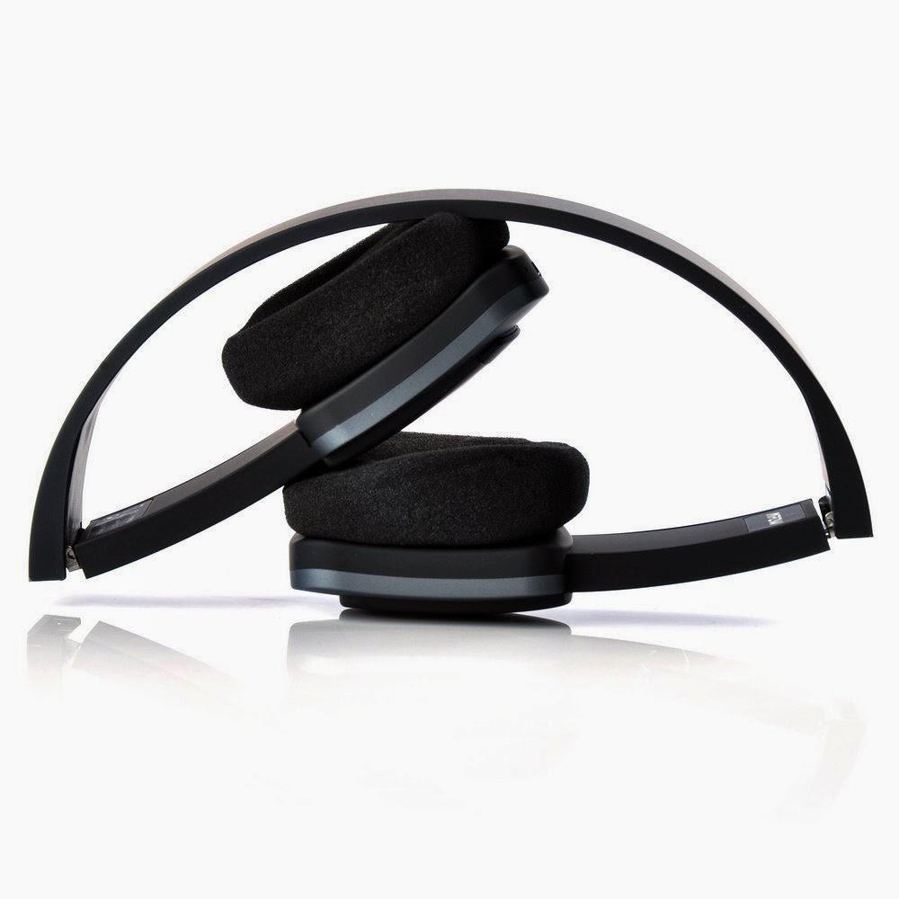 Folded Mpow Bluetooth Foldable Headphones Headset