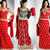 Bridal | Long Choli for Brides | Bridal Choli and Lehenga| Bridal Long Choli Lehenga | Embroidered Bridal Long Choli | Long Choli and Lehenga for Bridal Parties