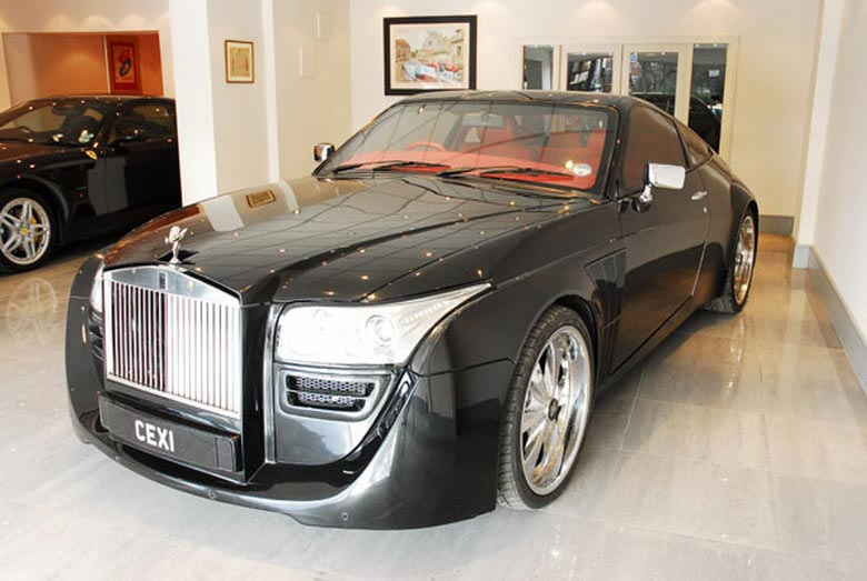 Rolls Royce Black Ruby