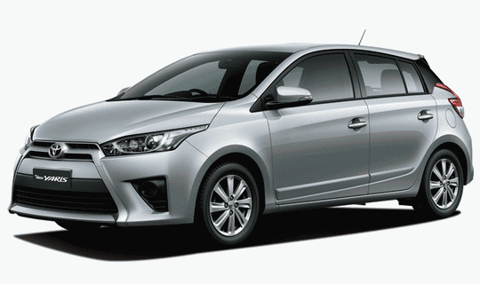 New Yaris G Manual : Warna Silver Metallic 2014