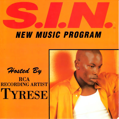 S.I.N. - New Music Program #15 (Hosted by Tyrese)-(Promo)-1996