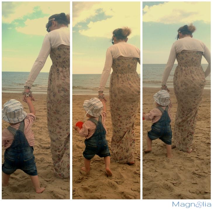 baby beach sand