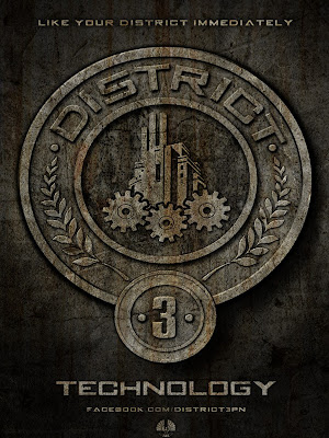 The Hunger Games District 3 Technolgy Poster