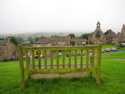 Leaving Reeth in the Morning