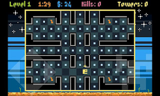 Pakkuman's Defense pacman tower defense