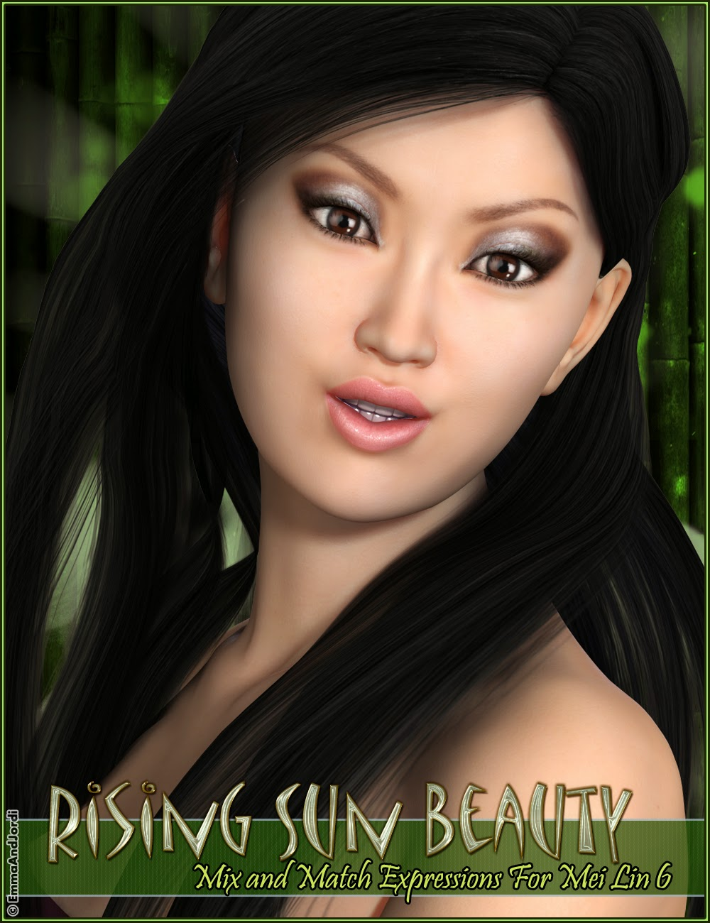 http://www.daz3d.com/rising-sun-beauty-mix-and-match-expressions-for-mei-lin-6