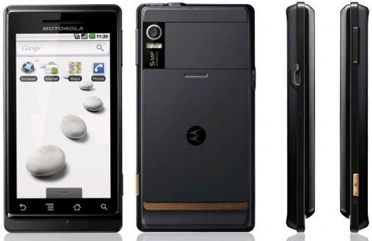 Get Motorola Milestone X android phone