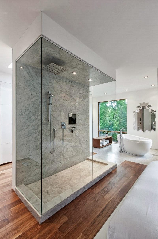 Hogares frescos casa con arquitectura exterior moderna y for Casa y diseno montevideo