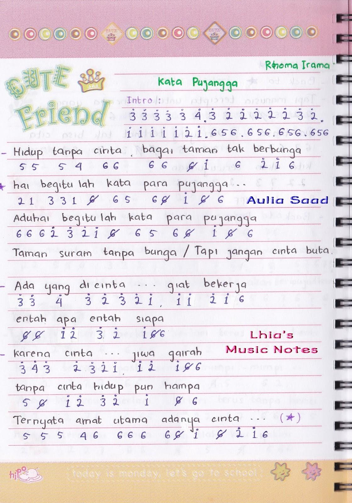Orquite Mark Lirik Lagu Melayu Kata Pujangga
