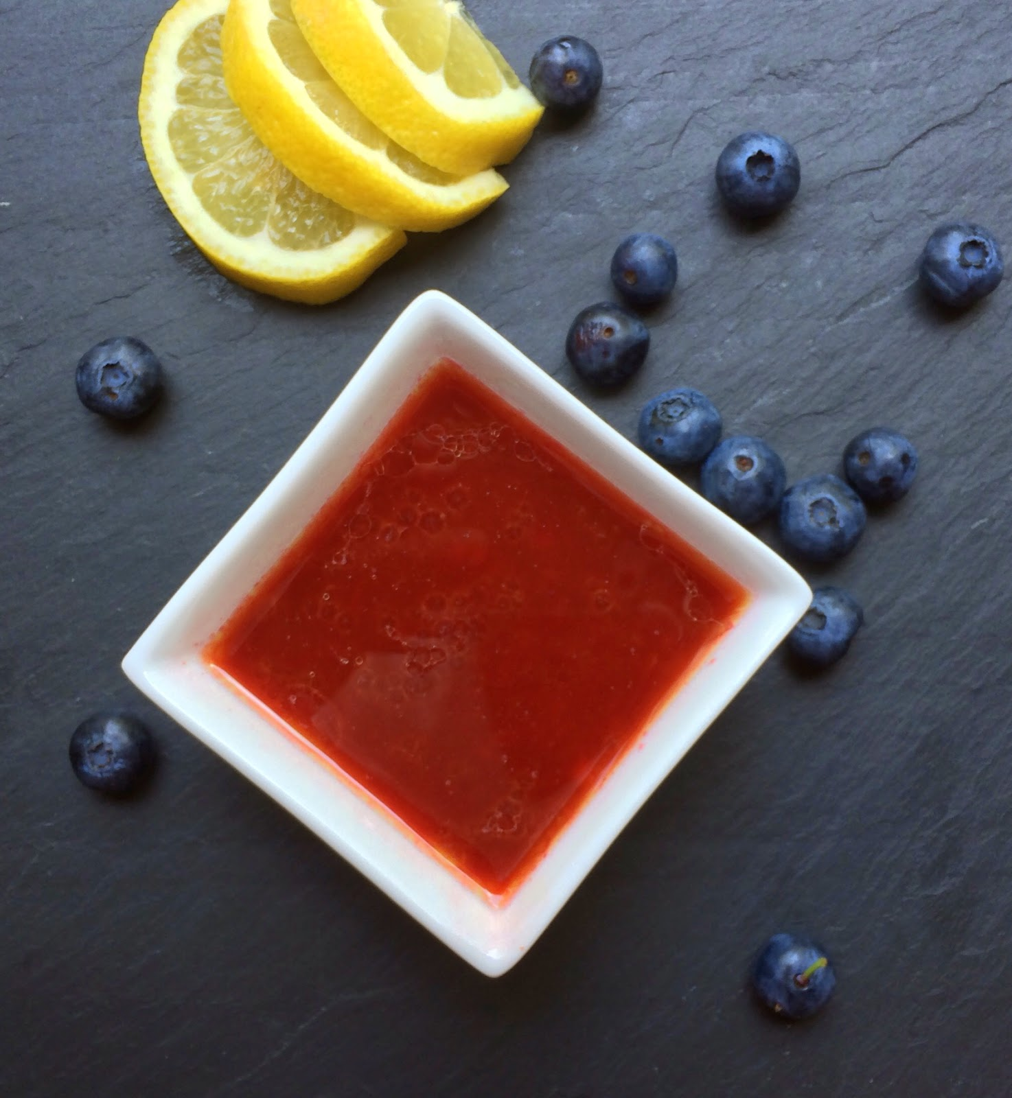 Lemon Blueberry Vinaigrette
