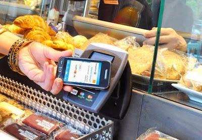 Pagando con el teléfono móvil