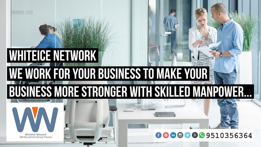 Whiteice Network - 360° Recruitment Service Provider | Leading Skilled Manpower Recruitment Company