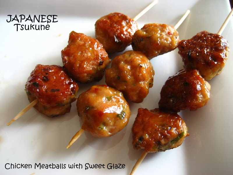 Home Cooking In Montana: Japanese Tsukune... Glazed ...