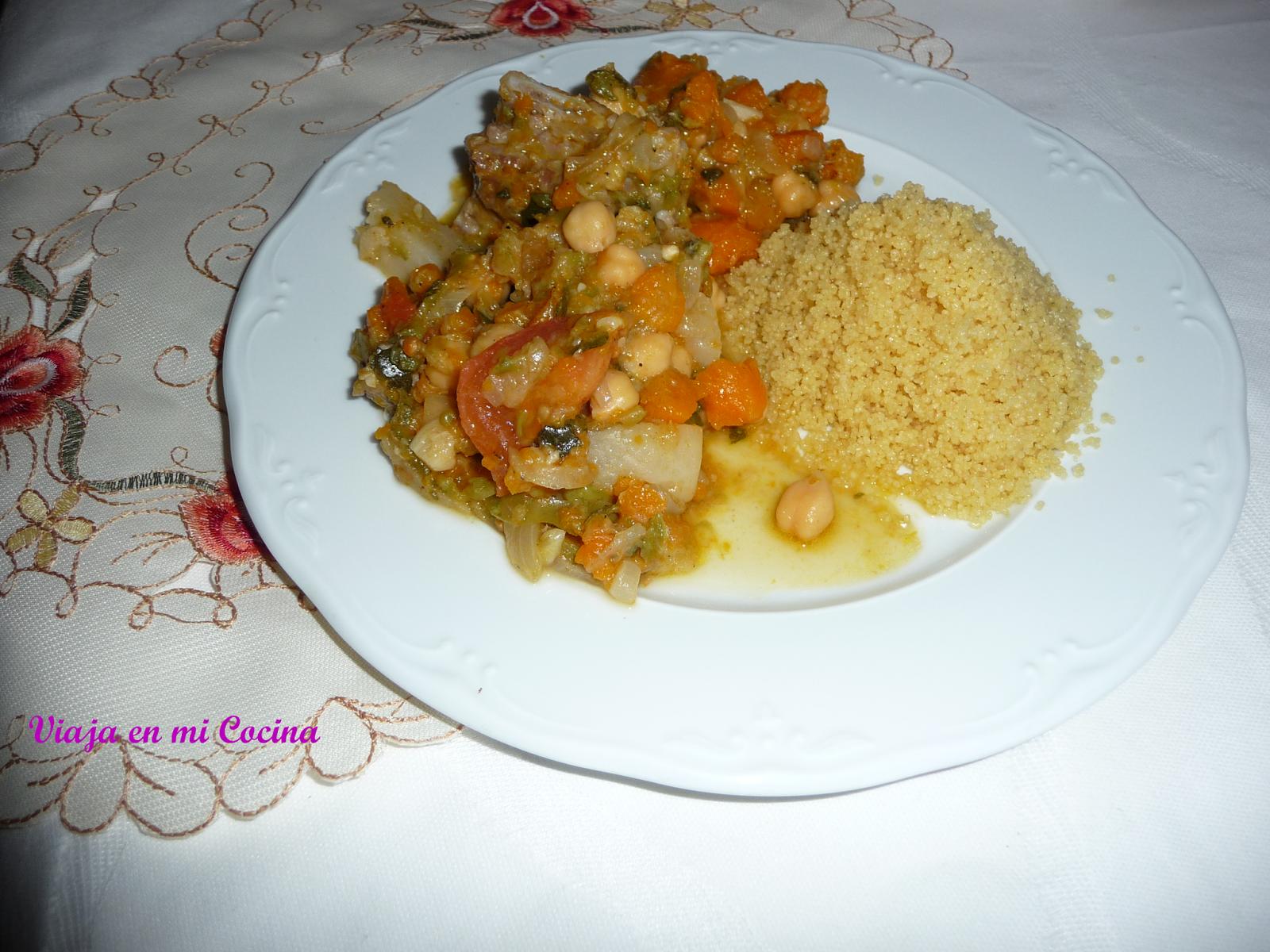 cuscús argelino