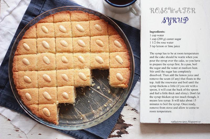 Greek Ravani Cake