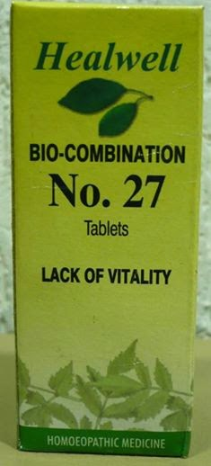 bio-combination no 27 lack of vitality