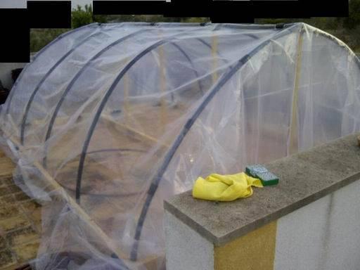 Como hacer un invernadero casero aprender hacer for Construccion de viveros e invernaderos