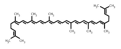 Licopene, formula di struttura