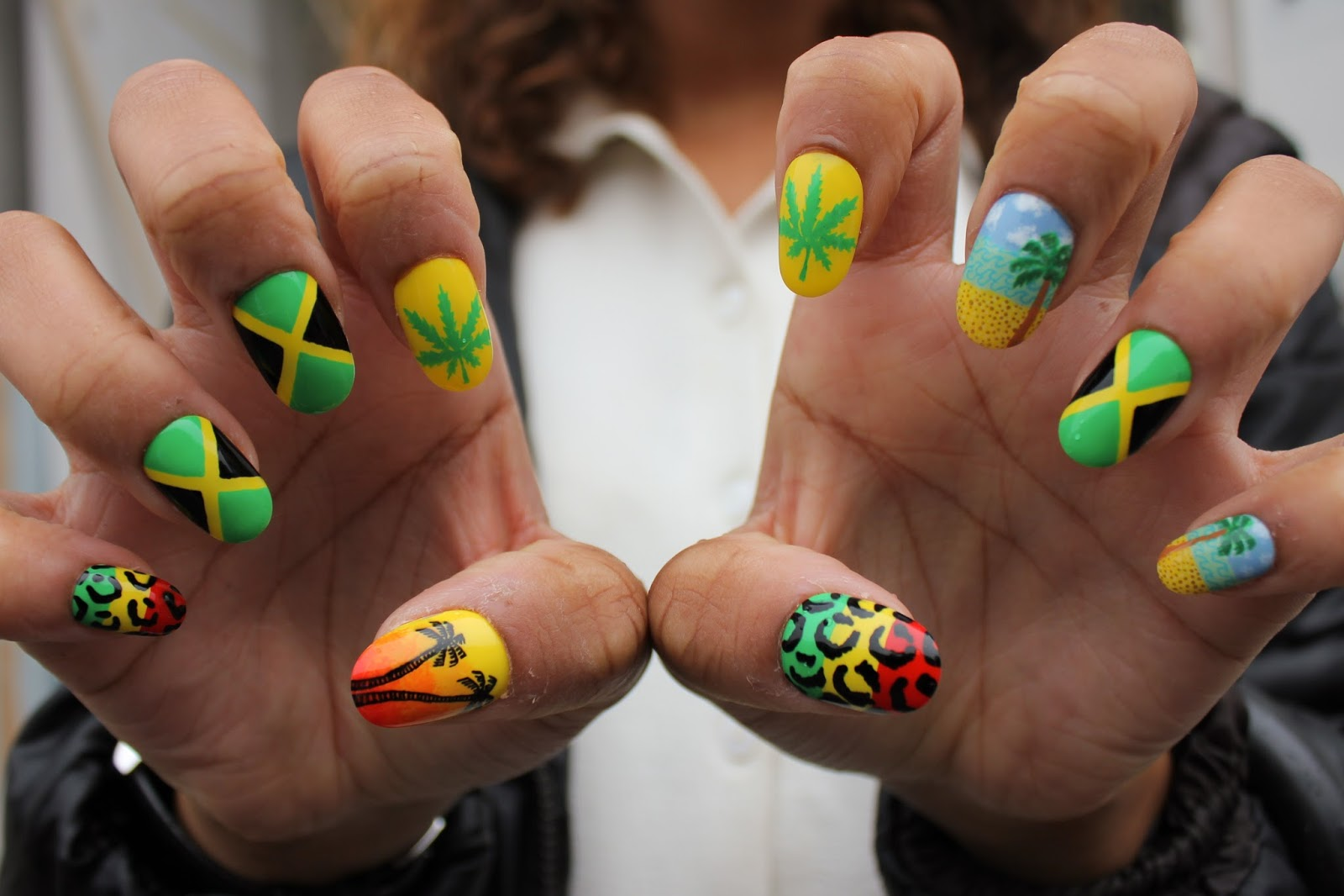 Famous Jamaican Nail Art Design Pictures - Nail Polish Ideas ...
