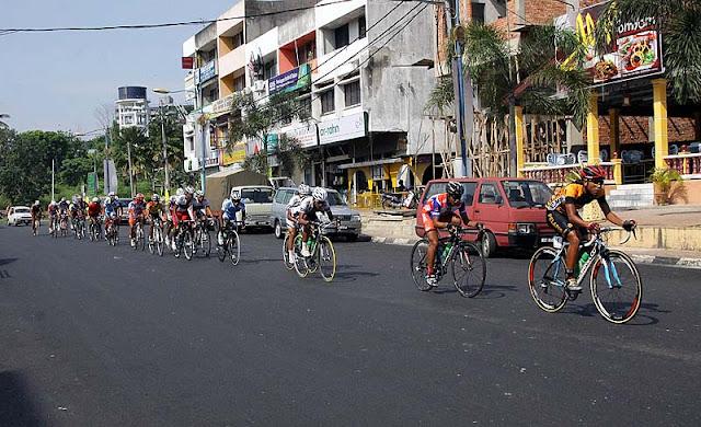 Kejohanan Lumba Basikal Kebangsaan 2011 di Raub