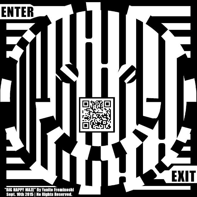 maze of happy face