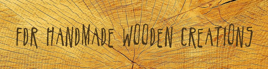 FDR handmade wooden creations