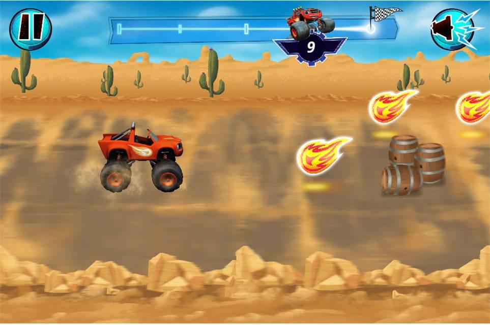 Nick Jr Blaze App