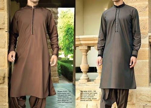 Junaid Jamshed Menswear 2014