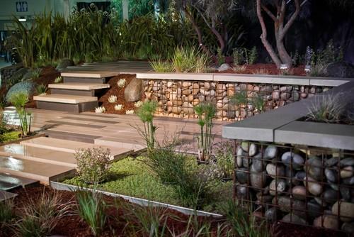 gabiony modne praktyczne i ekologiczne ogrodzenia gabiony w ogrodzie. Black Bedroom Furniture Sets. Home Design Ideas