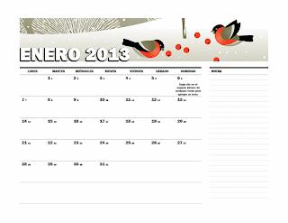 Calendario juliano 2013