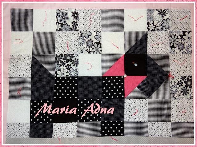 Patchwork, pano, Patchwork publicado em revista, Panô publicado em revista, Maria Adana, Maria Adna Atelie