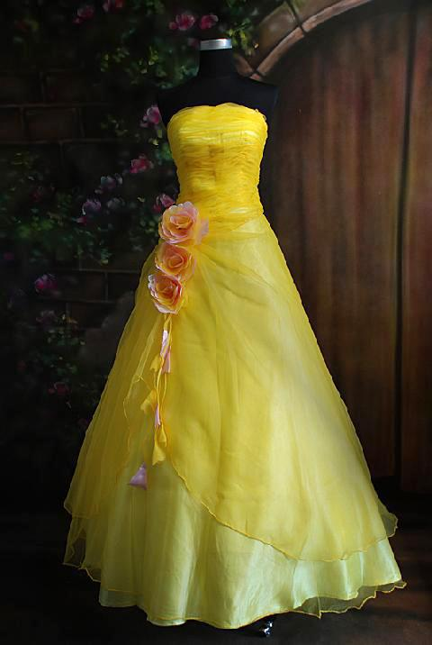 Celebrity gossip light yellow prom dresses for Yellow dresses for weddings