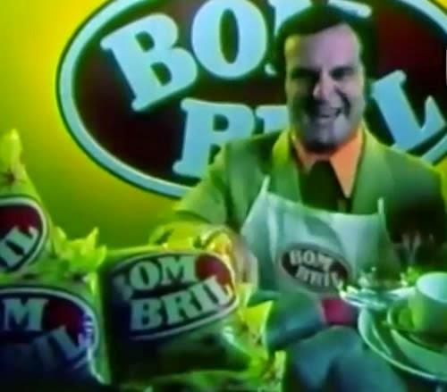 Campanha com um suposto 'novo garoto propaganda' da Bombril. Estratégia feita pela DPZ para a Bombril em 1981.