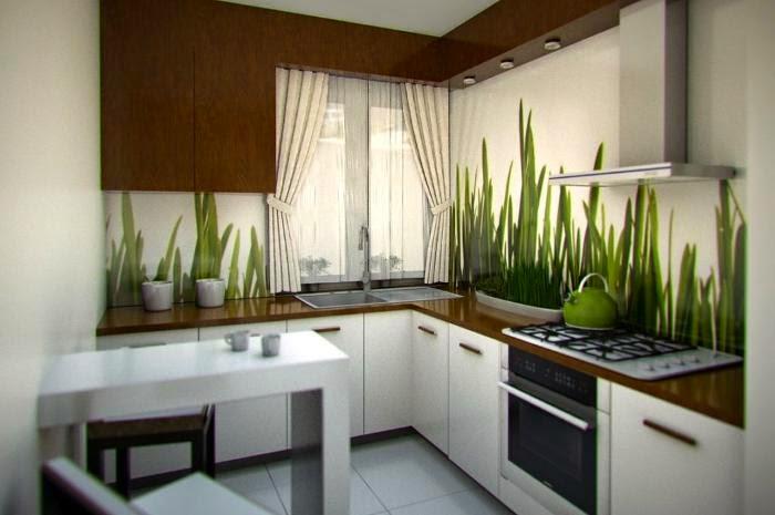 MADILLENE blog ~ ~ Kuchnie  mix inspiracji -> Kuchnia Zielone Kafelki
