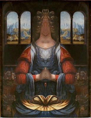 Psi Amplifier: kwietnia 2012 Da Vinci Paintings Mirrored