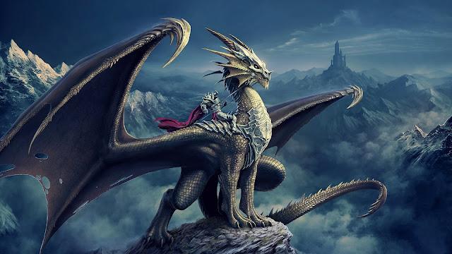 Dragon Rider HD Wallpaper