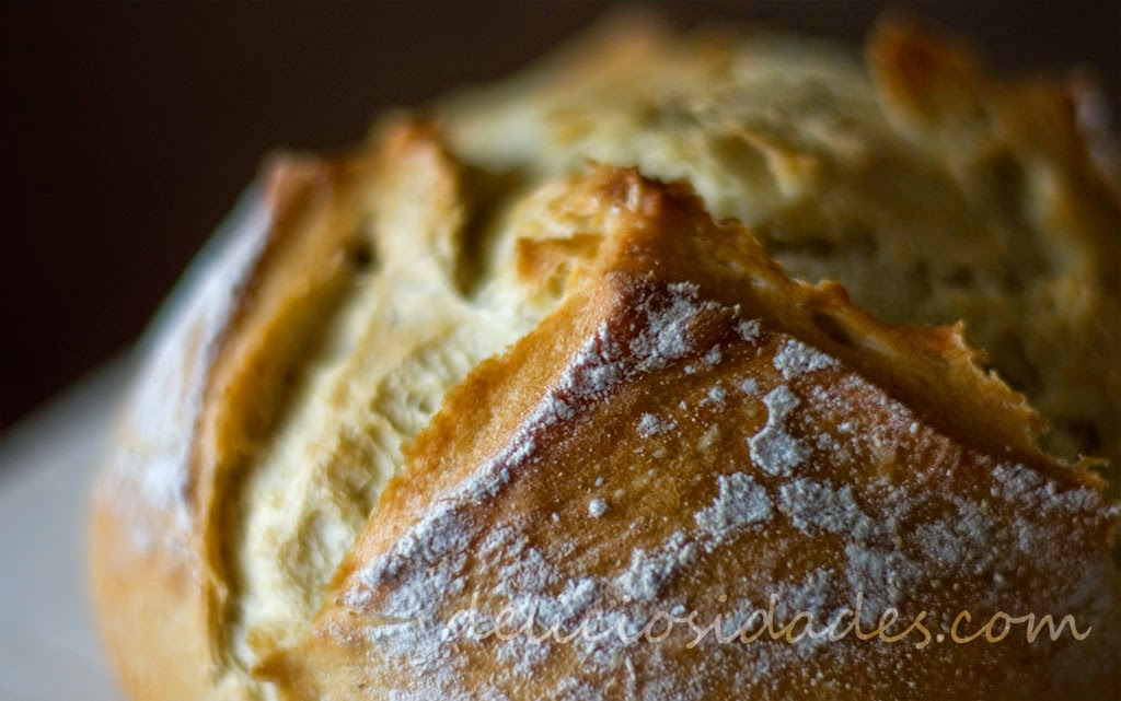 deliciosidades - Pan de hogaza de trigo