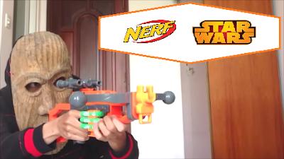 Nerf Starwars Chewbacca Bowcaster