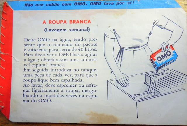 ... do Detergente OMO