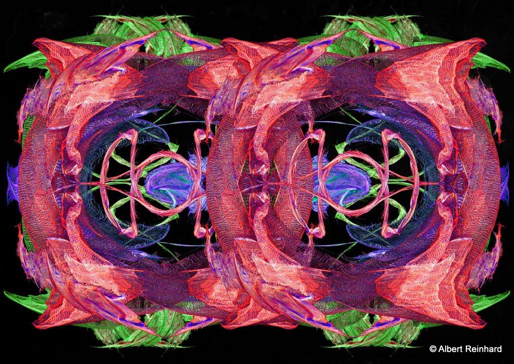 De ci de l effet miroir abstrait for Effet miroir photoshop