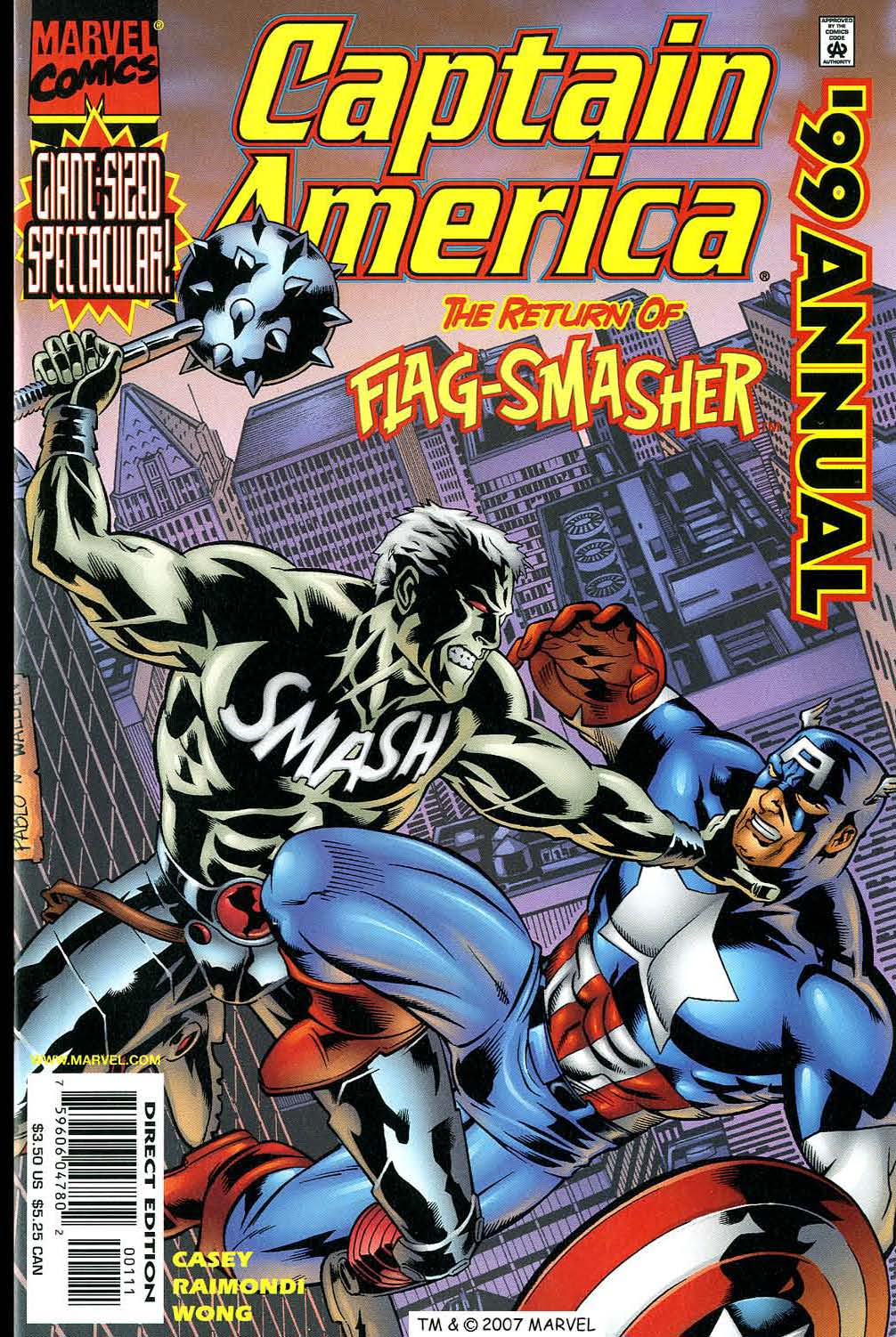 Captain America (1998) Annual 1999 #2 - English 1